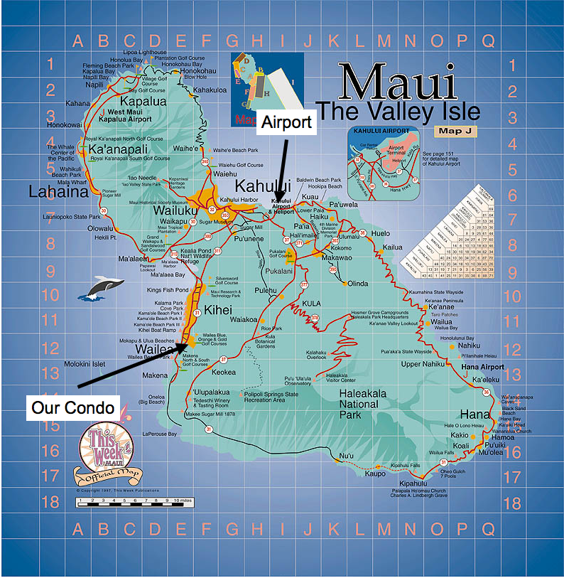Map Of Maui Hi Related Keywords Amp Suggestions  Map Of
